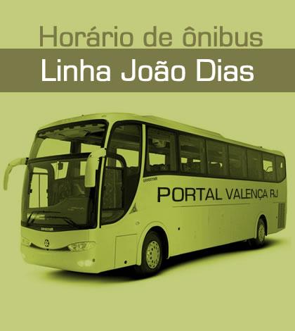 Horário de Ônibus – Linha João Dias