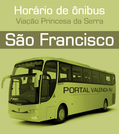Horário de Ônibus – Linha São Franciso
