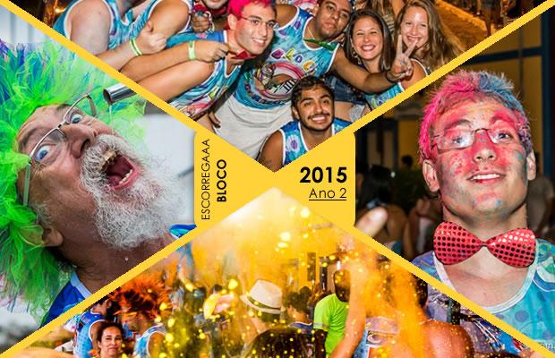 Carnaval 2015 – Bloco Escorregaaa!!! Cobertura