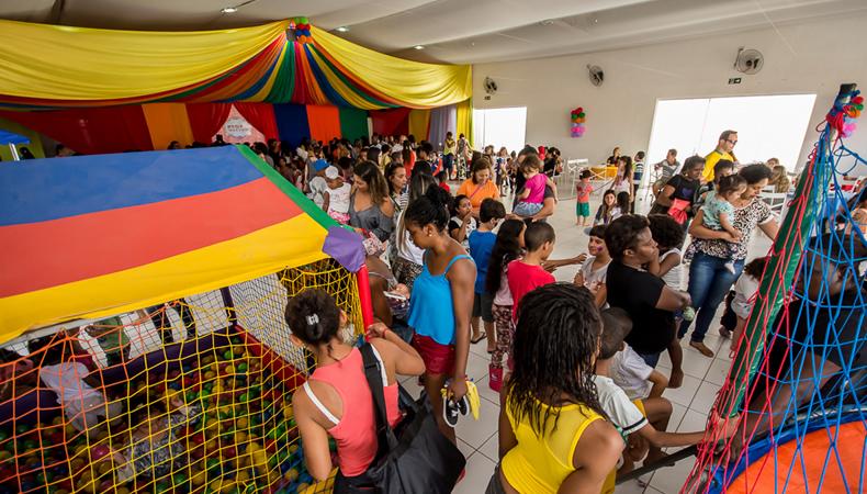 Festa em comemoração ao Dia das Crianças na Bel Festas e Eventos.