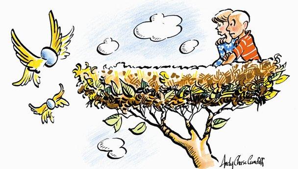 CBN Maringá: Síndrome do ninho vazio e do ninho cheio